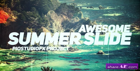Videohive Awesome Summer Slide