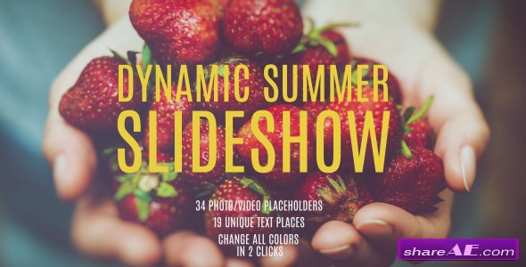 Videohive Dynamic Summer Slideshow