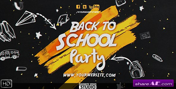 Videohive Back 2 School Event