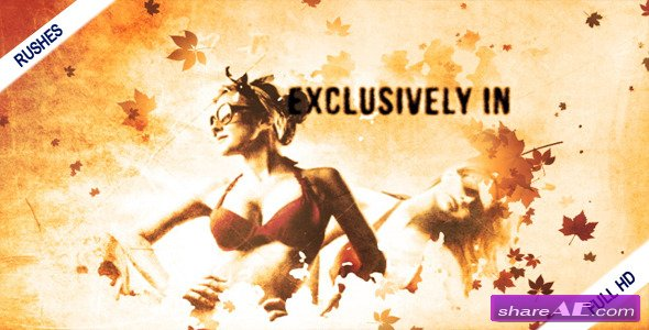 Autumn Leaves - After Effects Project (Videohive)