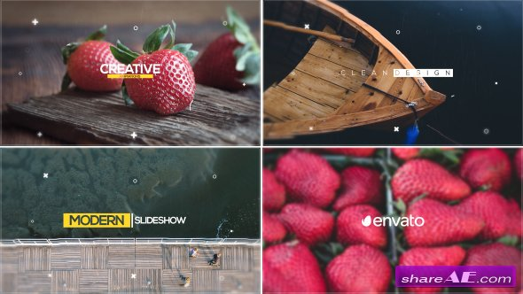 Videohive Simple Slideshow 17243462