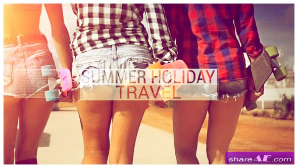 Videohive Summer Holiday Travel