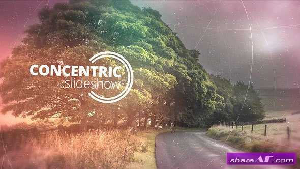 Videohive Concentric Slideshow
