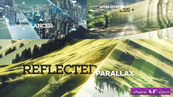 Videohive Reflected Parallax Slideshow