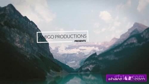 Cinematic Parallax Media Opener - After Effects Project (Motion Array)