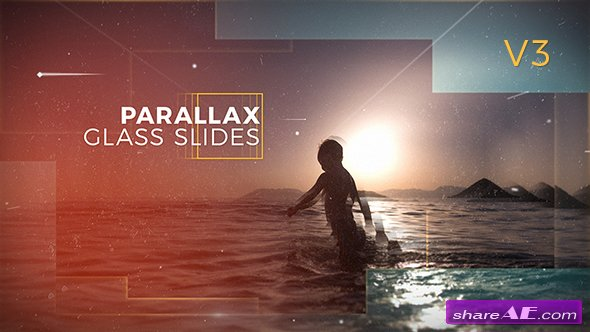 Videohive Parallax Glass Slides