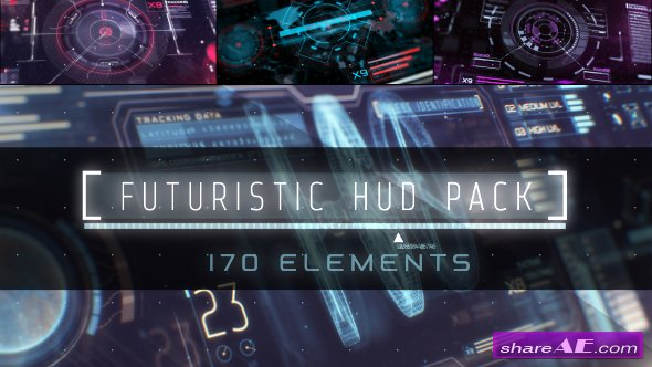 Videohive HUD Infographic