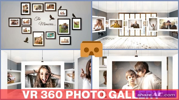 Videohive VR 360 Photo Gallery