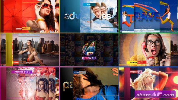 Videohive Colors Of Life - Slideshow