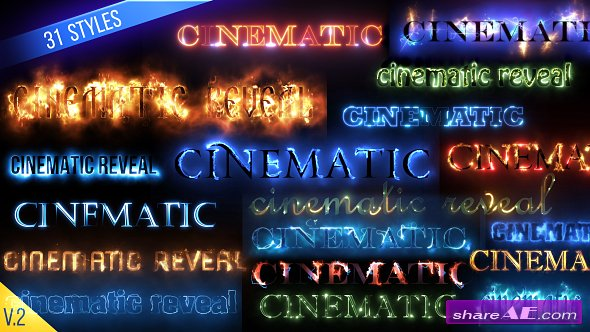 Videohive Cinematic Text Styles Pack