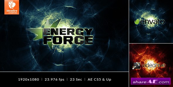 Videohive Energy Force - Logo Intro