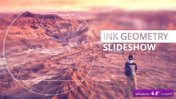 Videohive Ink Geometry Slideshow