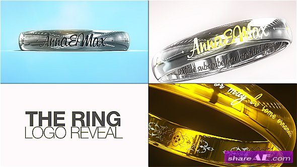 Videohive The Ring Logo Reveal