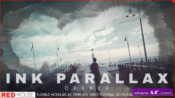 Videohive Ink Parallax Opener
