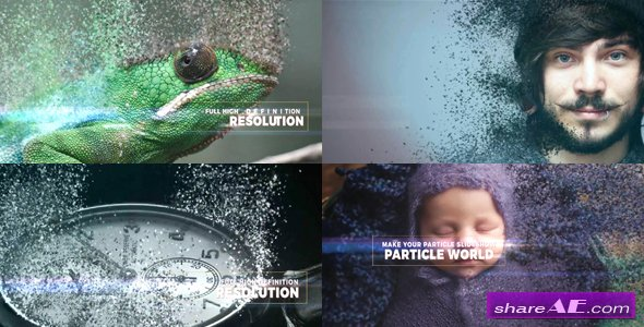 Videohive Particle World Slideshow
