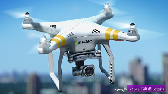 Quadcopter Phantom 16297317 Videohive - Free Download After Effects ...