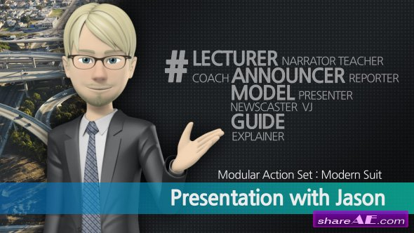 Videohive Presentation With Jason: Modern Suit