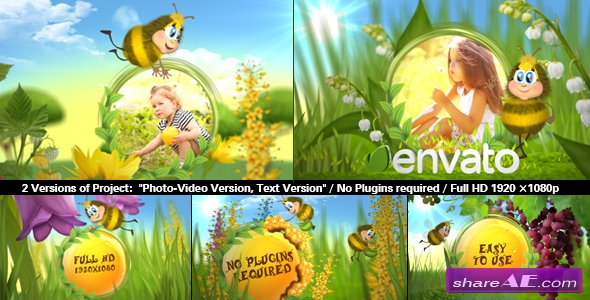 Videohive Funny Bee Slideshow