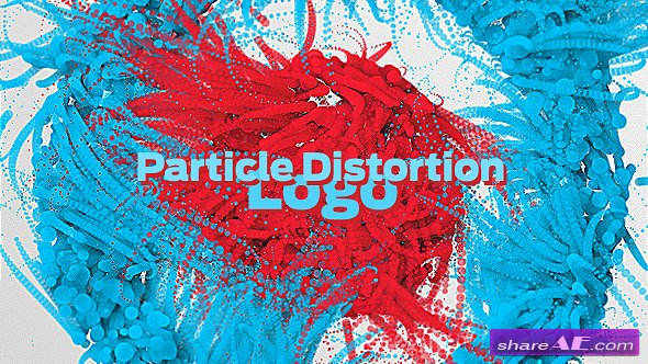 Videohive Particle Distortion Logo