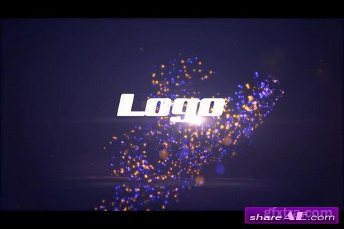 Particle Logo - After Effects Project (Motion Array)