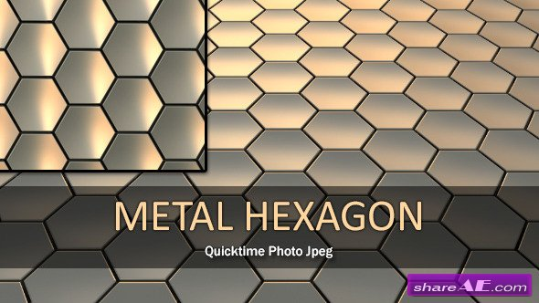 Metal Hexagon Loop - Motion Graphic (Videohive)