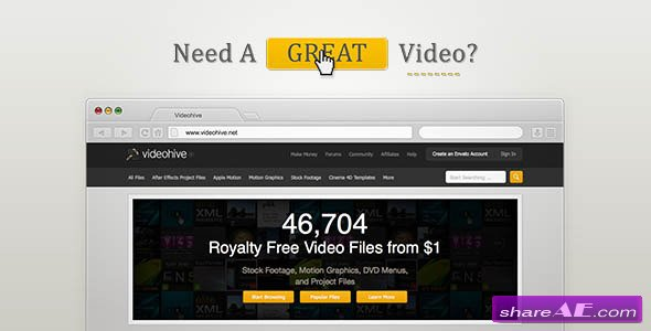 Videohive Simple Website Promo