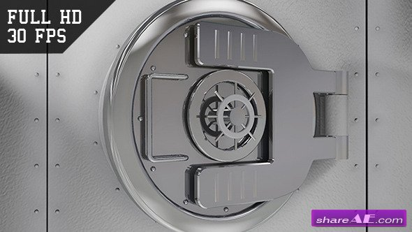 The Vault / Safe Intro - Motion Graphic (Videohive)