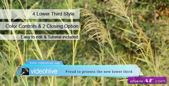 Videohive Lower Third 5768490