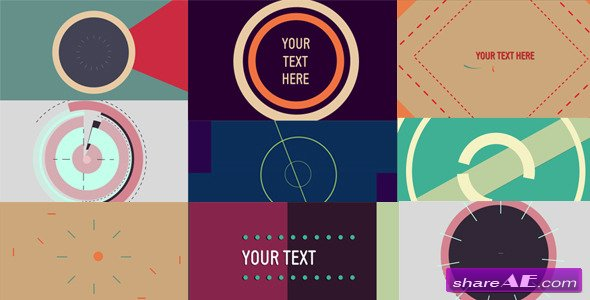 Videohive Abstract Shapes Opener