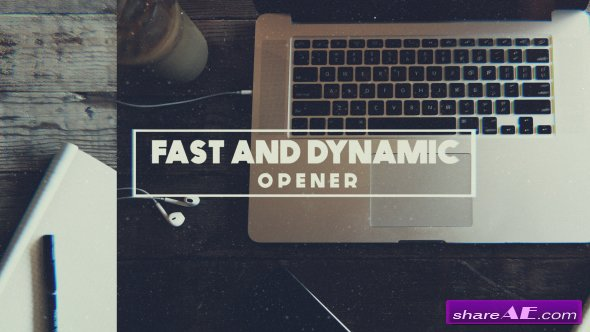 Videohive Dynamic and Fast Opener