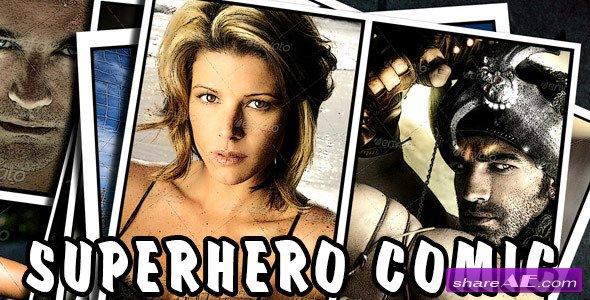 Videohive Superhero Comic
