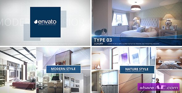 Videohive Modern Interior - Photo Gallery
