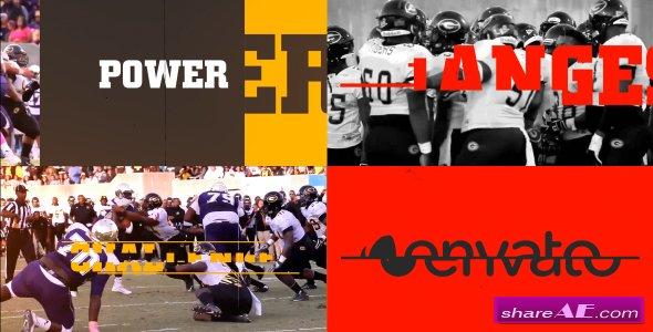 Videohive Sports Slideshow