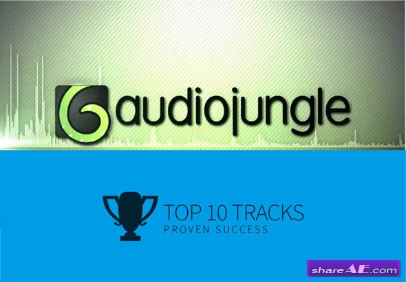 AudioJungle - Top 10 Best Sellers (2016)