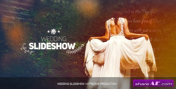 Videohive Wedding Slideshow