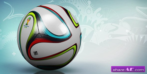 Soccer Ball Backround - Motion Graphic (Videohive)