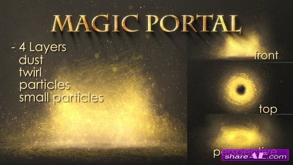 Videohive Magic Portal