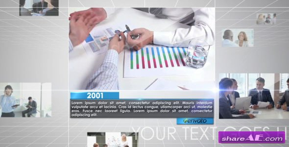 Videohive Business Timeline