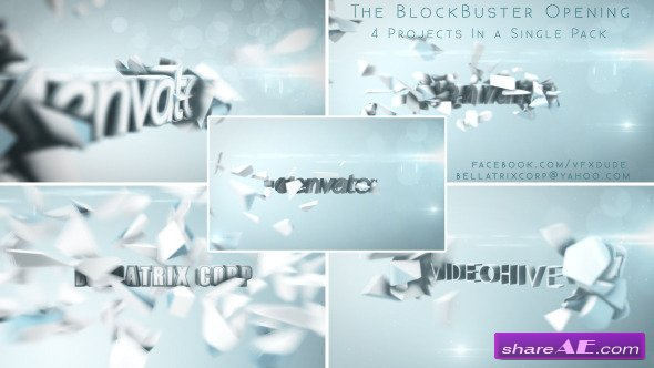 Videohive Blockbuster Trailer Vol.1 Clean, Bright & Elegant