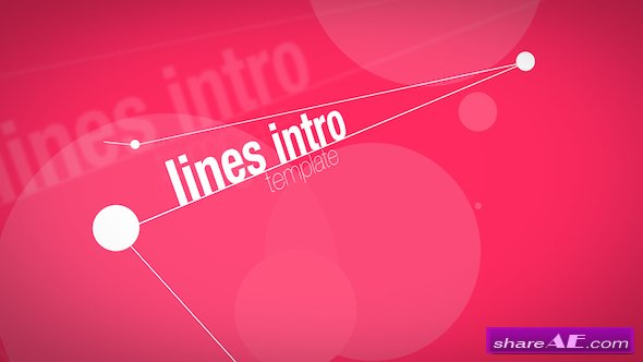 Videohive Lines Intro - Apple Motion Templates