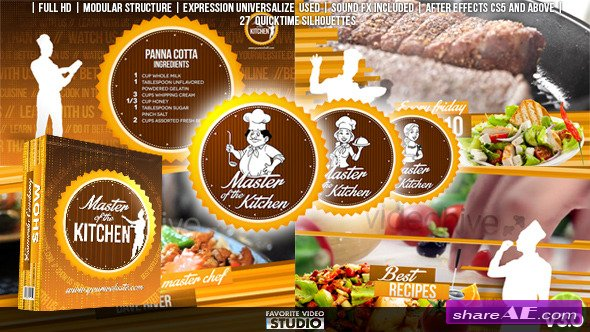 Videohive Favorite Cooking Show