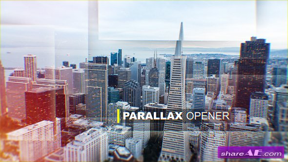 Videohive Parallax Opener