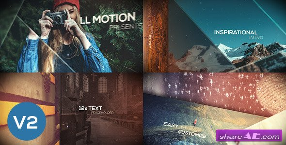 Videohive Inspirational Intro - Dynamic Slides - After Effects Templates