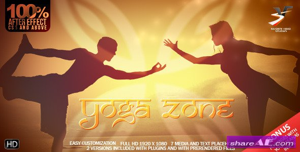Videohive Yoga Zone