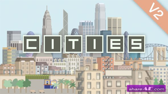 Videohive Cities Animation