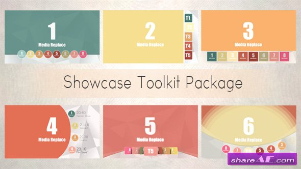 Videohive Showcase Toolkit Package