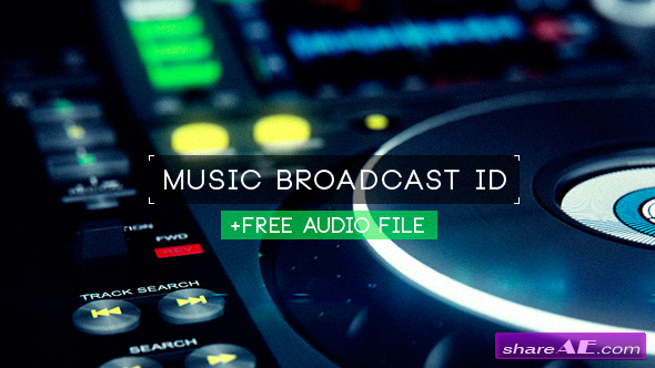Videohive Music Broadcast ID TV Spot