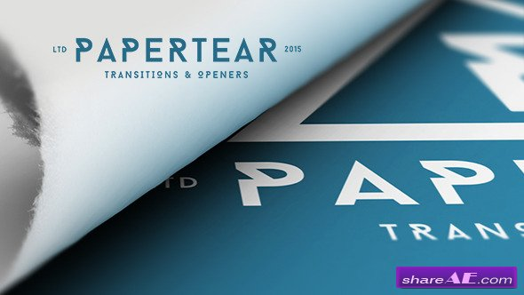 Videohive Papertear Openers & Transitions