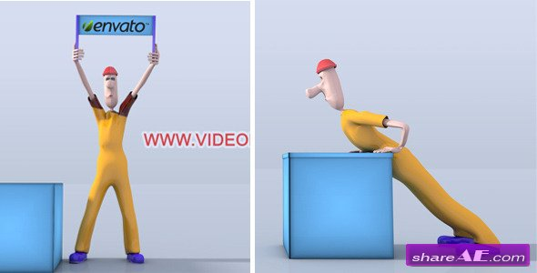 Videohive Character Animation Opener