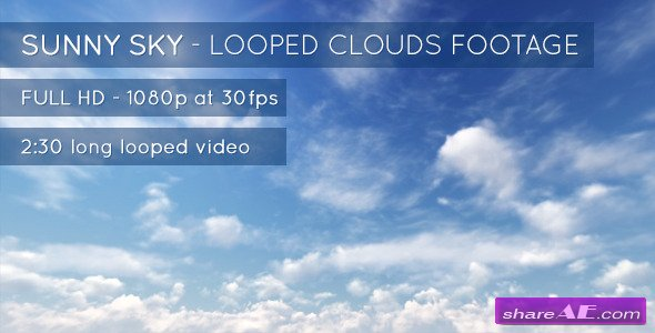 Sunny Sky and Clouds - Stock Footage (Videohive)